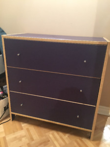Purple Ikea Dresser