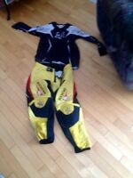 Fox motorcross jersey and rockstar motorcross pants