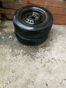 Winter tire/ pneu hiver negotiable