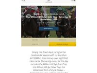 Ayr Gold Cup Tickets - Club Enclosure - Sat 17th September