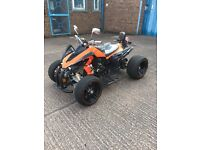 JINLING ROAD LEGAL QUAD BIKE 250CC 65 PLATE BRAND NEW 15 MILES ON CLOCK