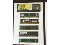 Desktop PC RAM, various, 9 items