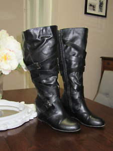 Ladies Wide Calf Fashion Boot