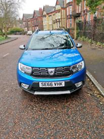 2017 66plate Dacia Sandero stepway ambanance DCI £5.995