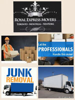♣️ROYAL EXPRESS MOVERS MONTREAL TORONTO FREE BOXES♠️