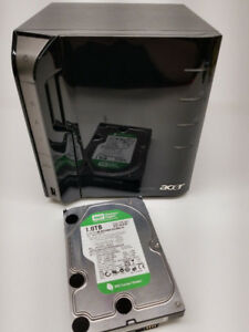 Acer Aspire Easystore H340 home server avec HDD 1TB