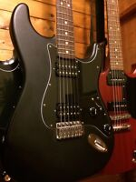 Fender Stratocaster (with Gibson humbuckers)