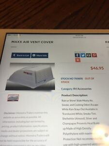 3 brand new maxx air vent covers