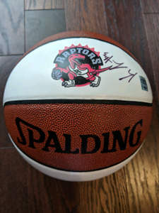 4fa84df8bc1 Signed Raptors Basketball.  150.00. Signed Raptors Basketball. City of  TorontoYesterday. NBA basketball signed by Kyle Lowry ...