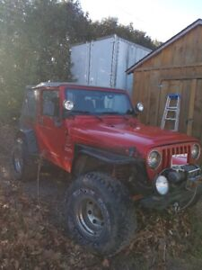 2000 Jeep TJ Road and Trail Ready