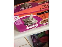 Brand new whiskas cat pouches
