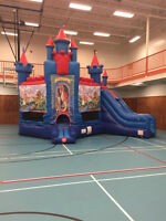 Inflatable Bouncy Houses, Obstacle Courses, Slides and More