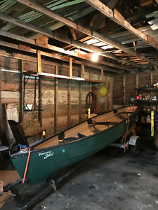 17' old town canoe