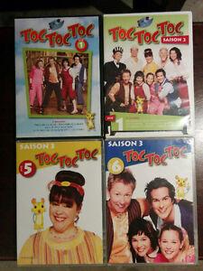 DVD de la série Toc Toc Toc
