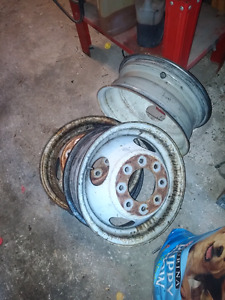 8 bolt chev gmc dully rims 16in