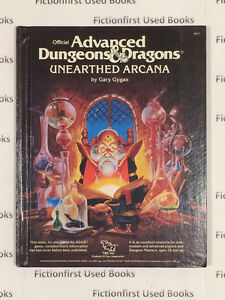 """Roleplay Manual: """"Unearthed Arcana"""" Player Copy/Loose Pages"""