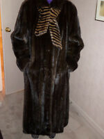 GREAT X-MAS GIFT!!! ELEGANT MINK FUR COAT!!!