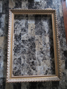 FRAME (real wood) 19 century artistically chiseled style