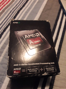 Amd A8 660k series cpu
