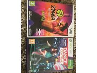 XBOX 360 Kinect and games