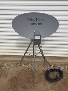 Shaw Direct Satellite System Complete!