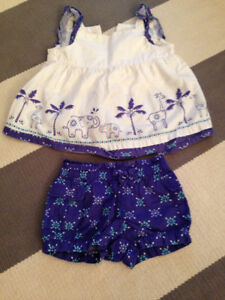 2T Gymboree Summer Top Shorts Set