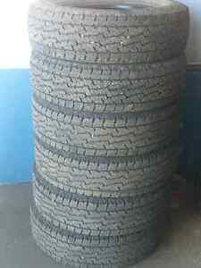 LT235/80R17 tires for sale.  6 in total St. John's Newfoundland image 1