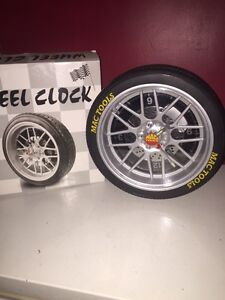 Mac tools wheel clock