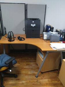 Office Moving Out- Desk and Cabinets Sale 70%+ discount