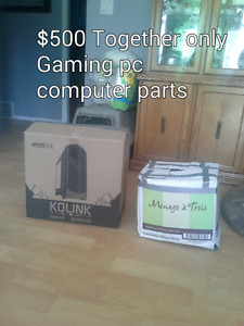 Sold Gaming pc and computer parts