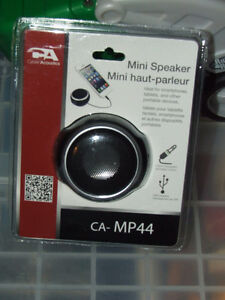 CA - MP44 - NIB - Mini Speaker - $10.00