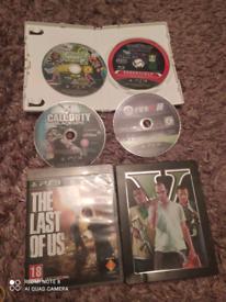 6 games . PS3 .