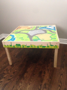 Imaginarium table & zoo playset