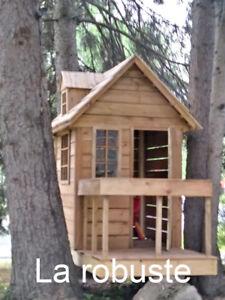 Ma cabane dans les arbres, maisonette pour enfants