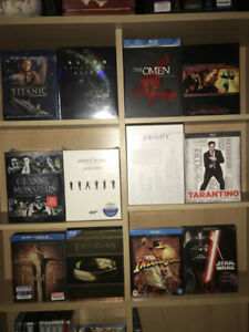 Blu-Ray and DVD Collection