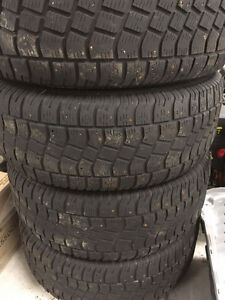 Studded Winter Tires on Rims- 275/65 R18 St. John's Newfoundland image 1