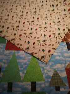 JUST REDUCED--Locally made Quilt   'Cabin in the Woods' Kingston Kingston Area image 5