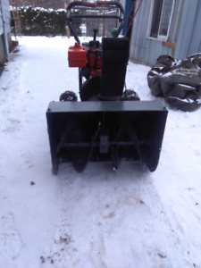 Craftsman snowblower 8/26