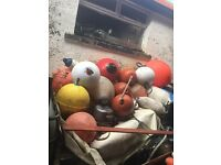 Assorted bouys