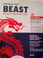Unleash The Beast, Belleville Dragon Boat Club, OPEN HOUSE