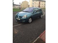 REANULT CLIO 1.2 04 PLATE 1YR MOT AND LOADS MORE FOR ONLY £695!!!!!!