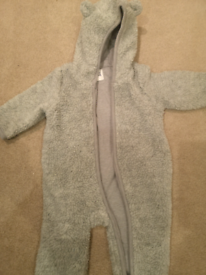 Baby Gap 3-6months Teddy snow suit