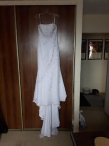 Brand New Beaded Wedding Dress - Tags on