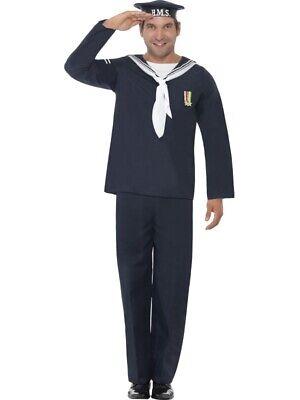 Matrosenkostüm Herren Matrose Seemann Uniform Marine