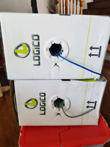 2 Boxes of Cat 5e UTP network cable