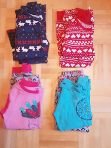 Lot 4 pyjamas fille gr. 4T