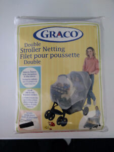 Graco - Double Stroller Netting/Mosquito Net