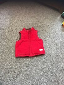 Baby GAP gilet body warmer 18-24m £4