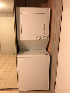 Stackable washer and  dryer Maytag