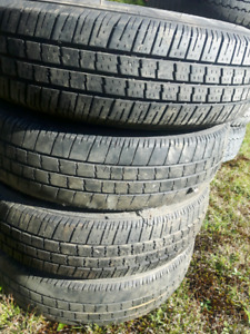 Summer tires in good condition